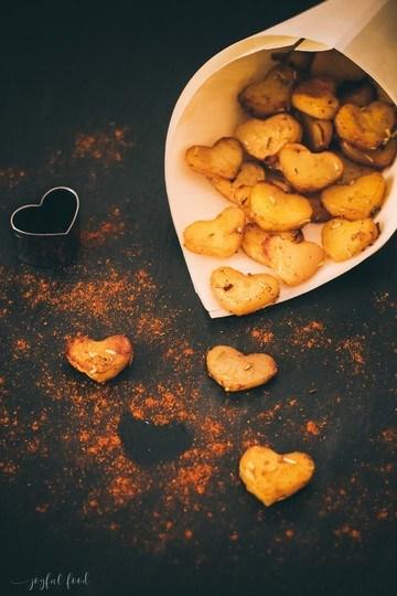 Rezept Kartoffelherzen - herrlich herzhaft zum Valentinstag