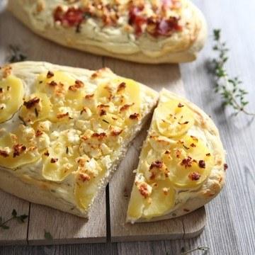 Rezept kartoffelige kräuterfladen