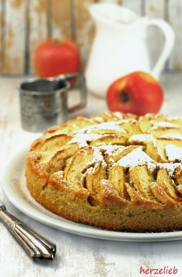 Rezept Kartoffelkuchen mit Äpfeln