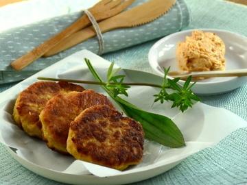 Rezept Kartoffellaibchen mit Liptauer