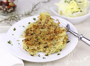 Rezept Kartoffelpuffer (Reibekuchen)