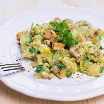 Rezept Kartoffelsalat - vegan -
