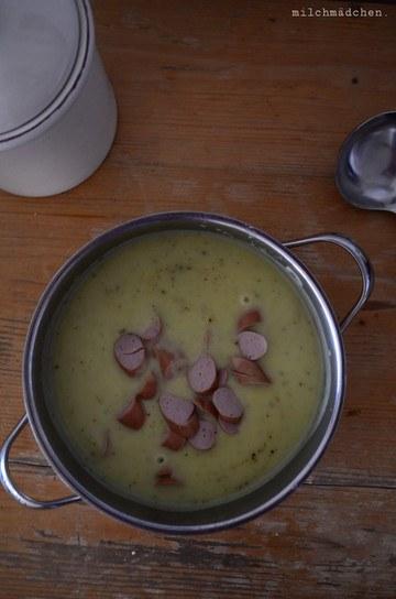 Rezept Kartoffelsuppe nach Kanzlerin-Art