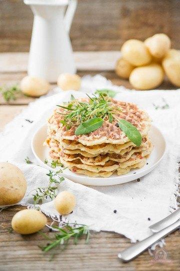 Rezept Kartoffelwaffeln