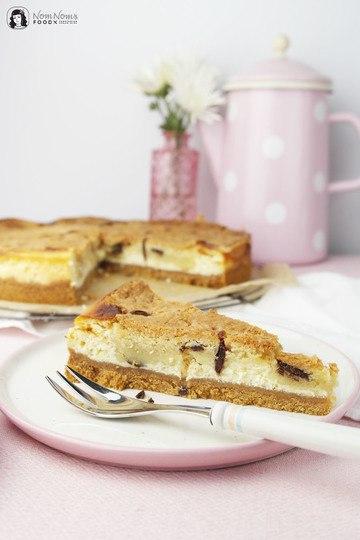 Rezept Käsekuchen mit Cookie Dough Keksteig-Knusperkruste