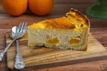Rezept Käsekuchen mit Orangen