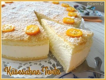 Rezept Käsesahne-Torte