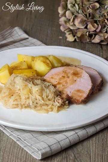 Rezept Kasselerbraten mit Sauerkraut und Kartoffeln