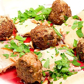 Rezept Kebaab Keres - Kebab mit Lamm und Kirschsauce