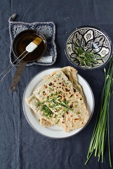 Rezept Kelaneh - Gefülltes Lavash Brot aus der Pfanne