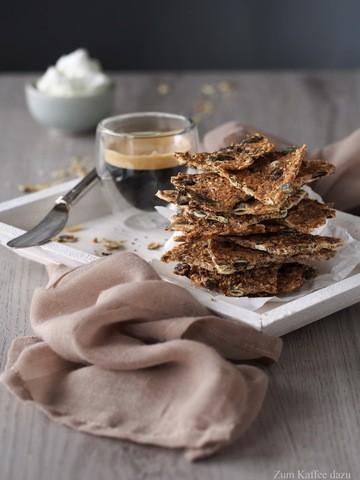 Rezept Kernige Brot-Cracker