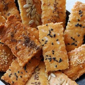 Rezept Kernige Knusper-Cracker