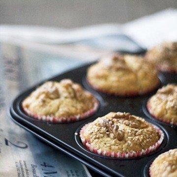 Rezept Kernige Muffins mit Agavendicksaft