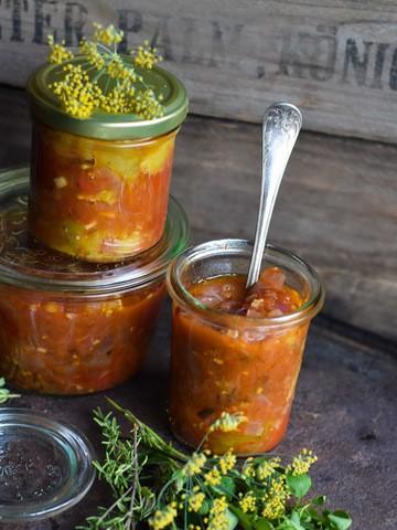 Rezept Ketchup aus ofengerösteten Tomaten