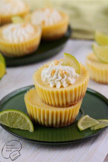 Rezept Key Lime Cheesecake Muffins