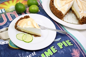 Rezept Key Lime Pie mit Baiser