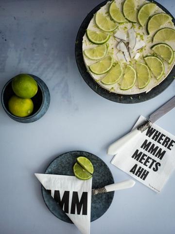 Rezept Key Lime Pie roh und vegan