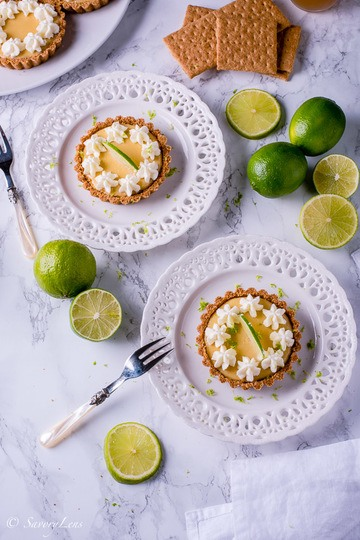 Rezept Key Lime Pie Tartelettes