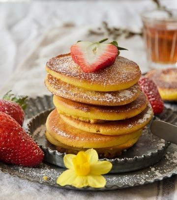 Rezept Khanfaroush - Persische Safran-Kardamom-Pancakes