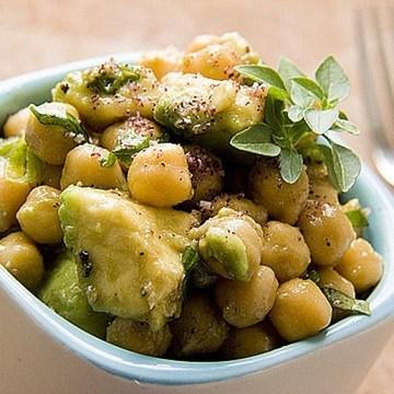 Rezept Kichererbsen-Avocado-Salat