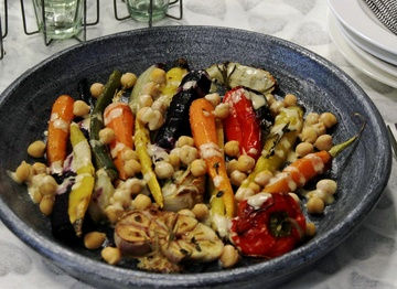 Rezept Kichererbsen Salat