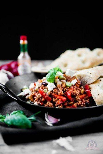 Rezept Kirchererbsen Chili con Carne