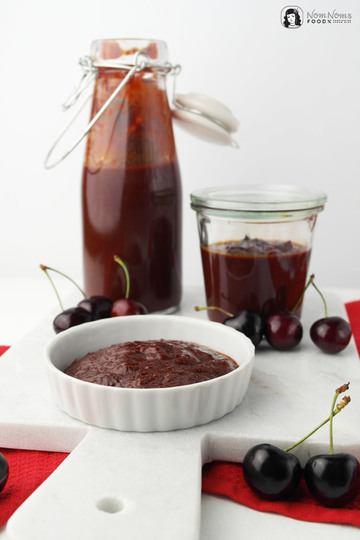 Rezept Kirsch-BBQ-Ketchup mit Balsamico