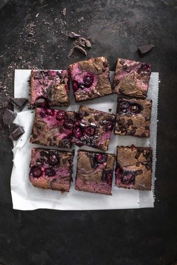 Rezept Kirsch-Brownie-Kuchen