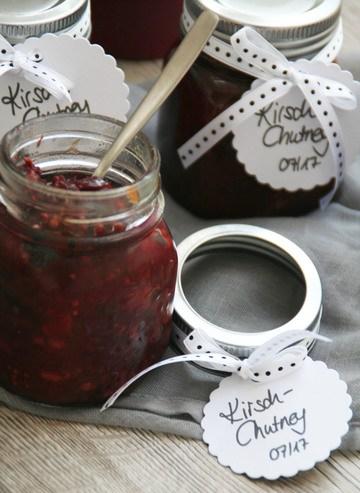 Rezept Kirsch-Chutney