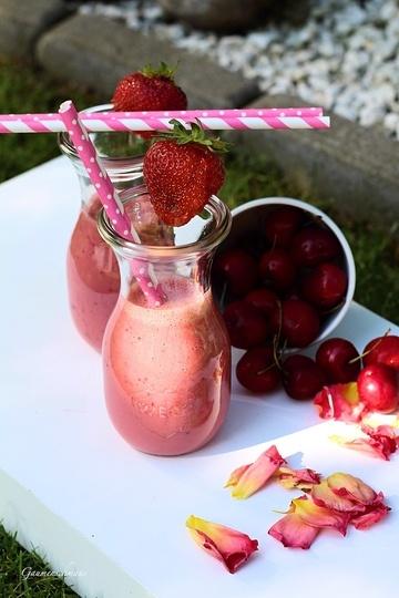 Rezept Kirsch-Erdbeer-Smoothie