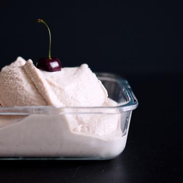 Rezept Kirsch-Kokos-Eis