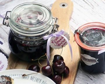 Rezept Kirsch-Konfitüre und Kirsch-Johannisbeer-Konfitüre
