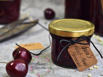Rezept Kirsch-Mandel-Marmelade