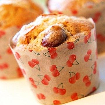 Rezept Kirsch-Marzipan-Muffins