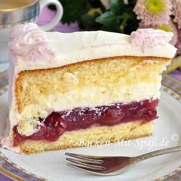Rezept Kirsch- Mascarpone- Torte