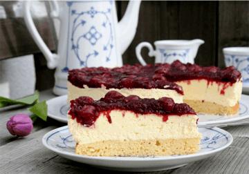 Rezept Kirsch Schmand Torte