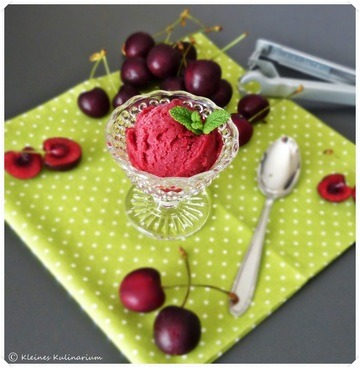 Rezept Kirschsorbet
