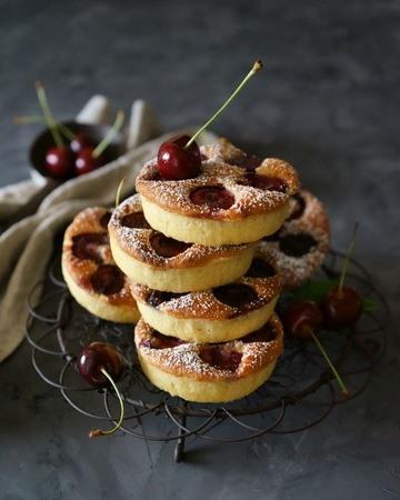 Rezept Kirschtarte mit Mandelcreme