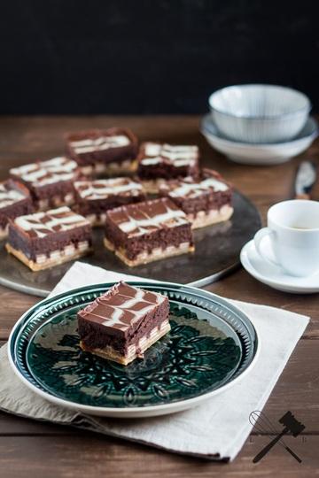 Rezept Kit Kat Cheesecake Bars