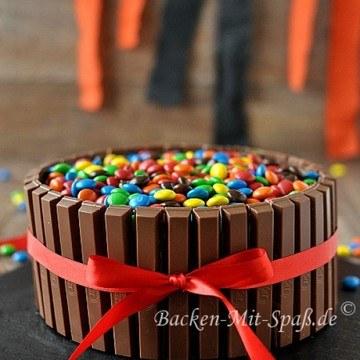Rezept Kitkat M&M's Torte