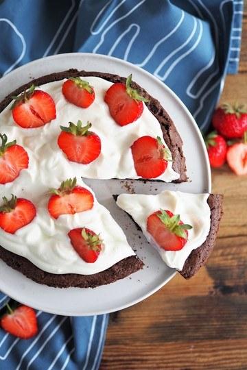 Rezept Kladdkaka - Schokoladenkuchen aus Schweden