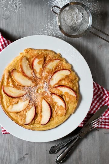 Rezept Klassische Apfelpfannkuchen