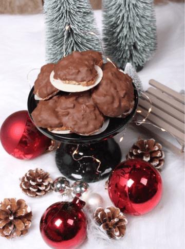 Rezept Klassisches Elisenlebkuchen Rezept mit Schokolade überzogen