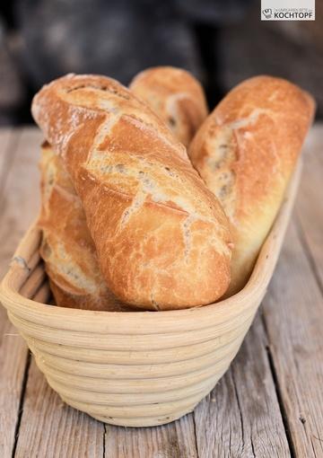 Rezept Kleine Brotstangen