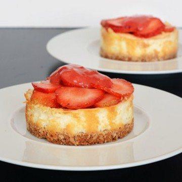 Rezept Kleine Cheesecakes