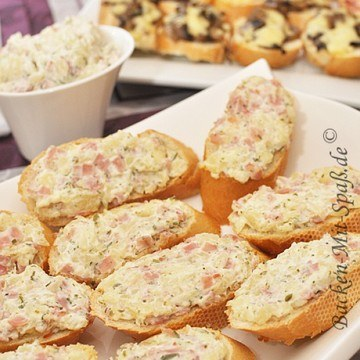 Rezept Kleine Hawaii- Toasts