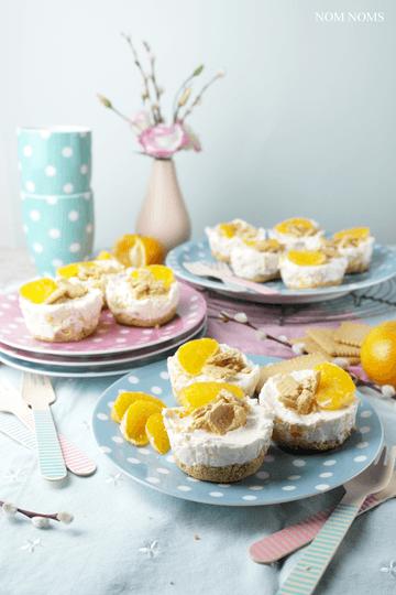 Rezept Kleine Mandarinen Käsekuchen ohne Backen