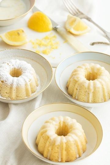 Rezept Kleine Zitronen-Olivenöl-Küchlein