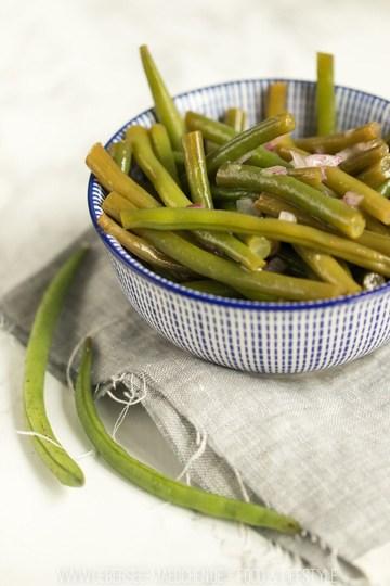 Rezept Knackiger Bohnensalat wie im Restaurant mit Essigdressing