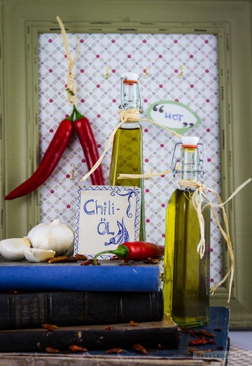 Rezept Knoblauch-Chiliöl
